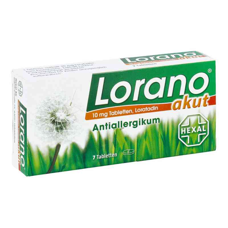 Lorano tabletki na alergię  zamów na apo-discounter.pl