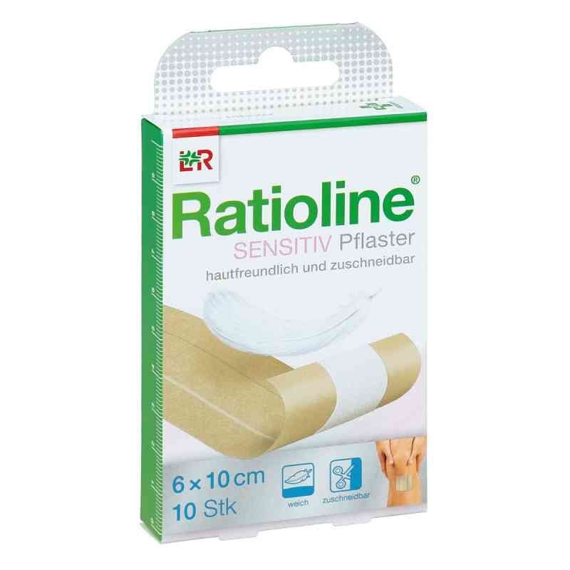 Ratioline sensitive 6cmx1m łatwy opatrunek na rany  zamów na apo-discounter.pl