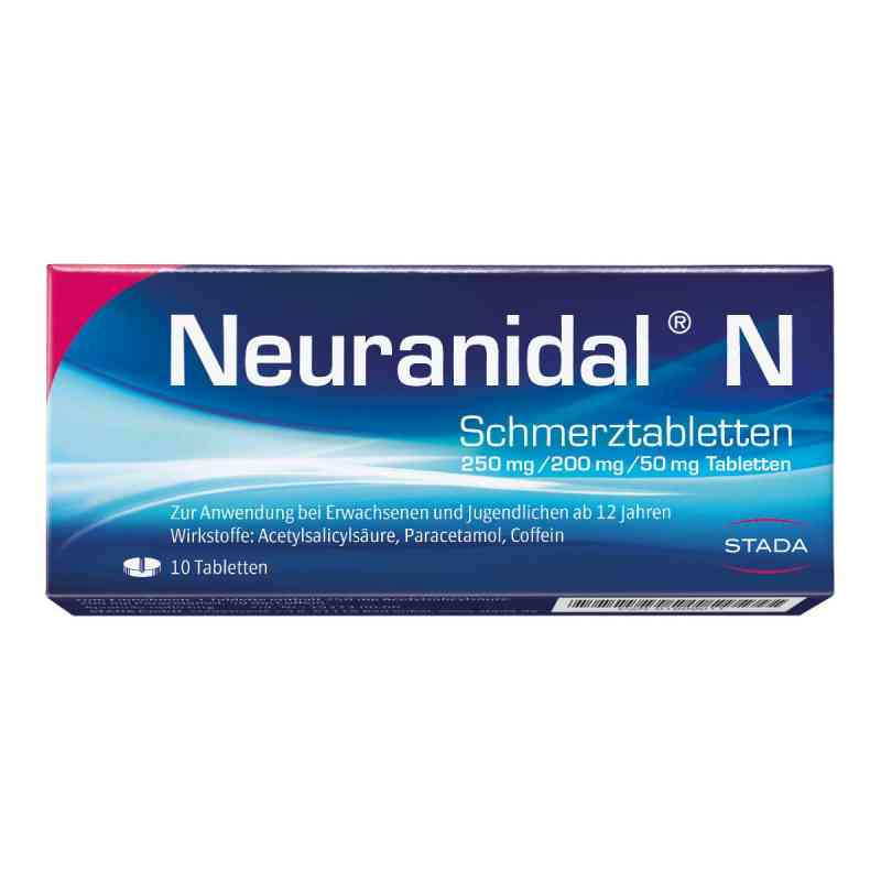 Neuranidal N Tabl.  zamów na apo-discounter.pl
