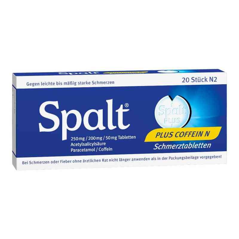 Spalt Plus Coffein N Tabl. zamów na apo-discounter.pl