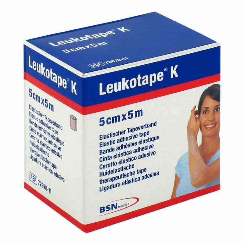 Leukotape K 5 cm hautfarben Verband 1 szt. od BSN medical GmbH PZN 01907357