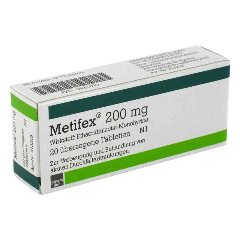 Metifex 200 mg Tabl.ueberzogen  zamów na apo-discounter.pl