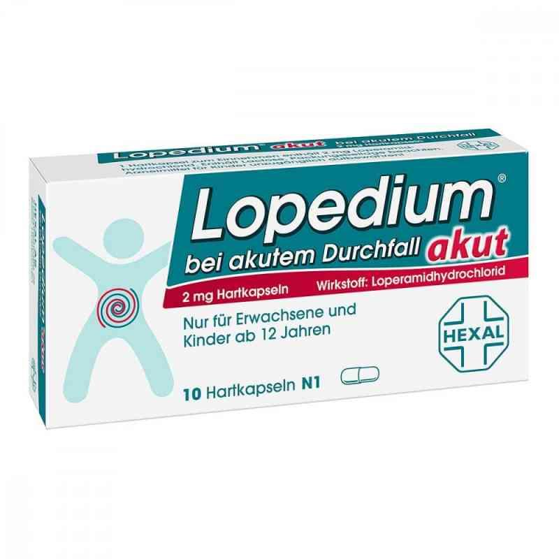 Lopedium Akut preparat na ostrą biegunkę, kapsułki  zamów na apo-discounter.pl