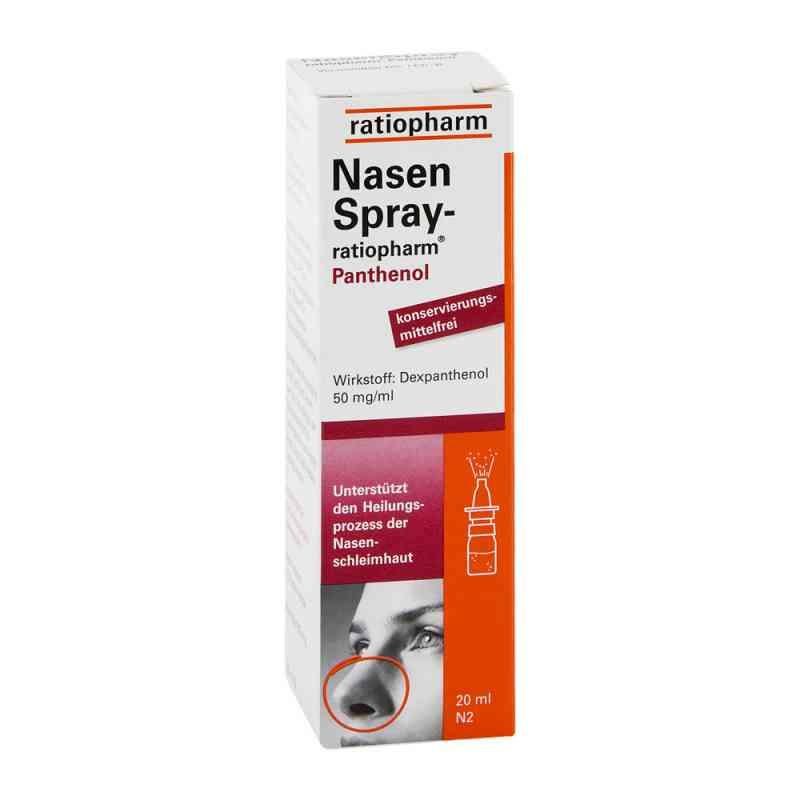 Nasenspray ratiopharm Panthenol  zamów na apo-discounter.pl
