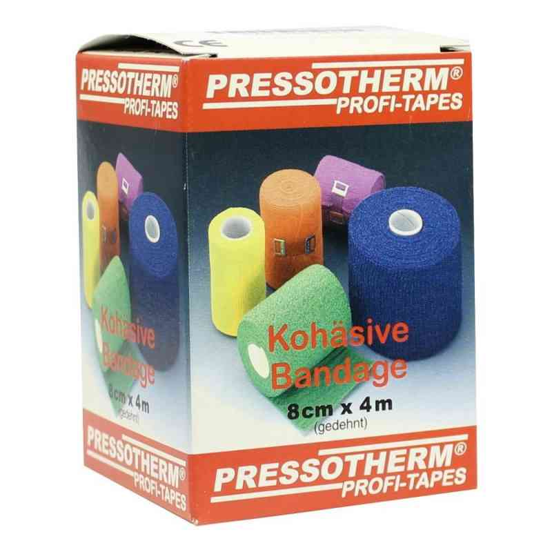 Pressotherm Kohaesive Bandage 8cmx4m gelb  zamów na apo-discounter.pl