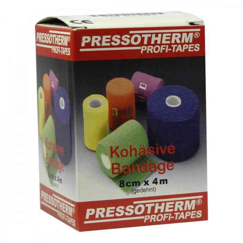 Pressotherm Kohaesive Bandage 8cmx4m blau  zamów na apo-discounter.pl
