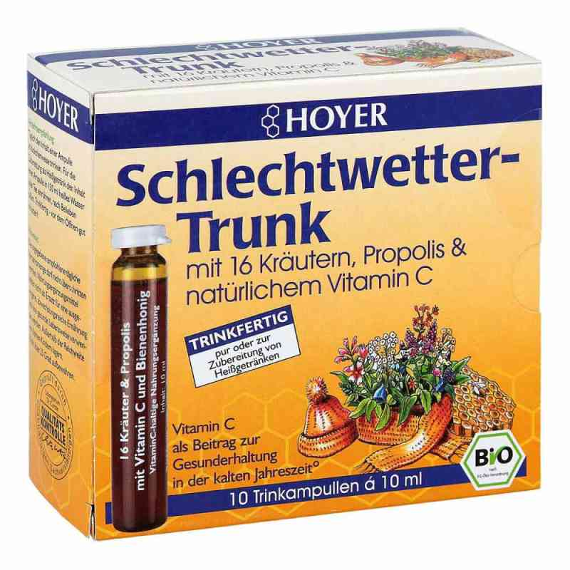 Hoyer Schlechtwetter Trunk ampułki do picia  zamów na apo-discounter.pl