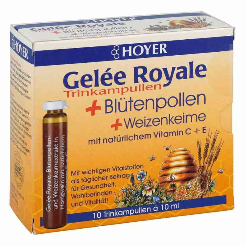 Hoyer Gelee Royale. ampułki do picia  zamów na apo-discounter.pl
