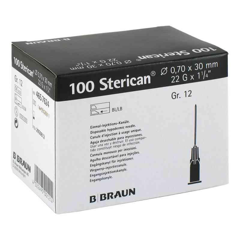 Sterican Kan.luer-lok 070x30mm igła roz. 12 czarna  zamów na apo-discounter.pl