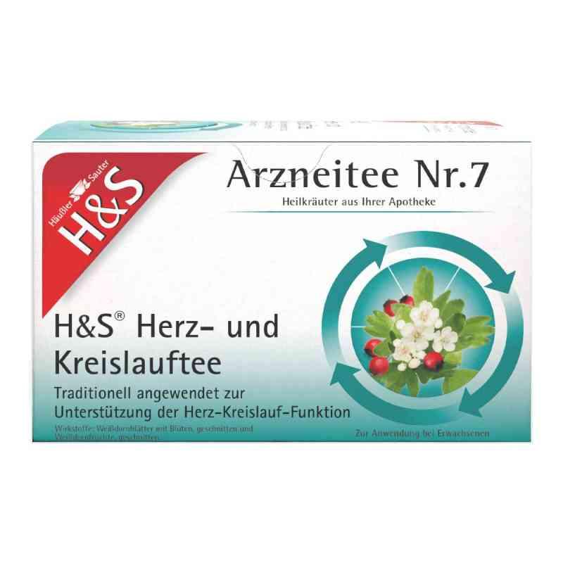 H&S Herz Kreislauf herbata w saszetkach z głogiem  zamów na apo-discounter.pl
