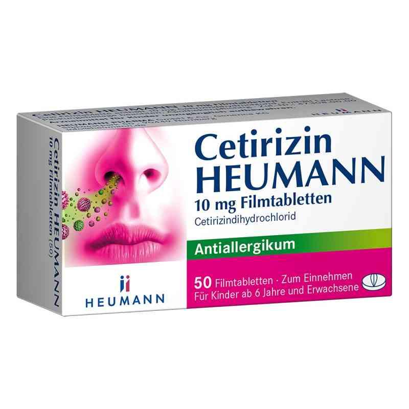 Cetirizin Heumann 10 mg Filmtabl.  zamów na apo-discounter.pl