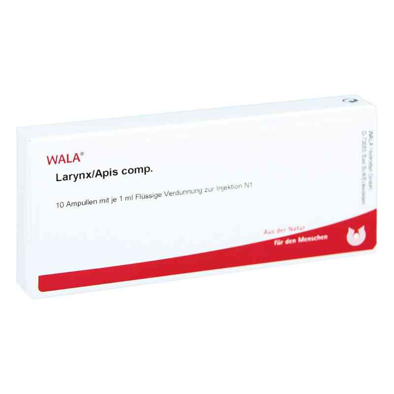 Larynx/apis Comp. w ampułkach  zamów na apo-discounter.pl