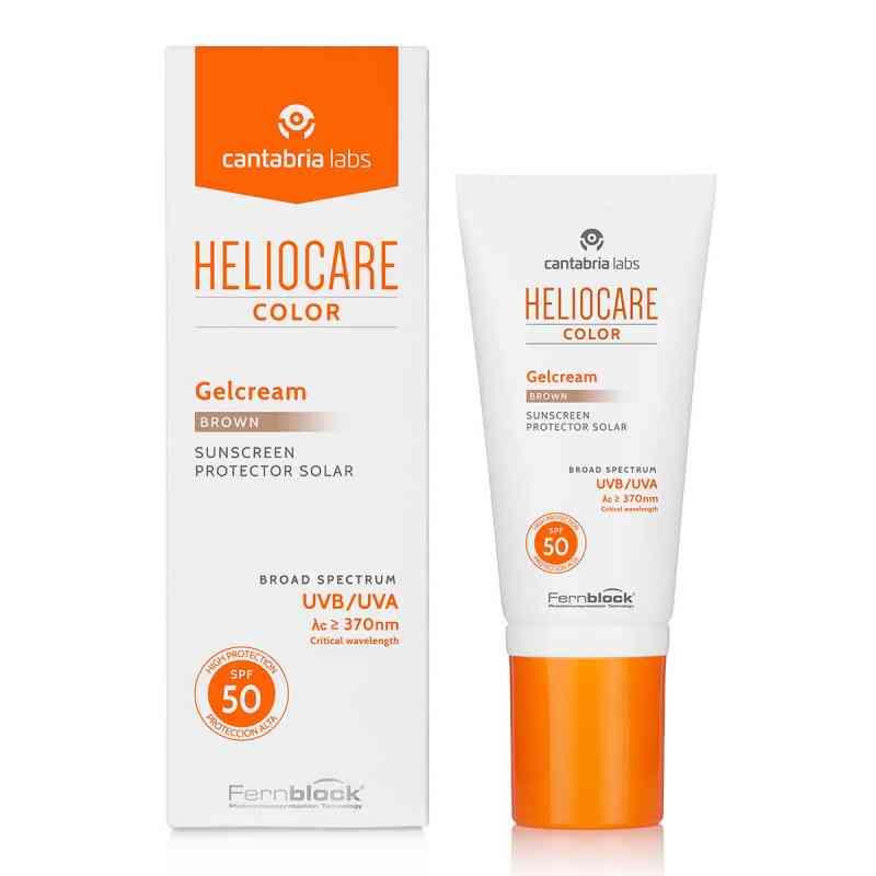 Heliocare Color Gelcream, brązowy SPF 50  zamów na apo-discounter.pl