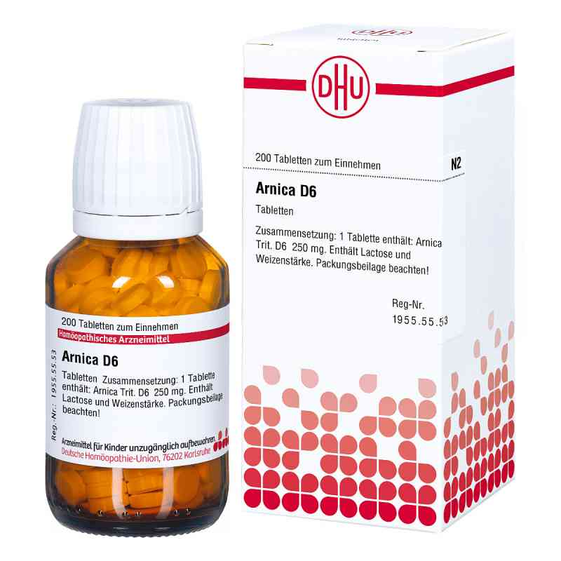 Arnica D 6 Tabl. zamów na apo-discounter.pl