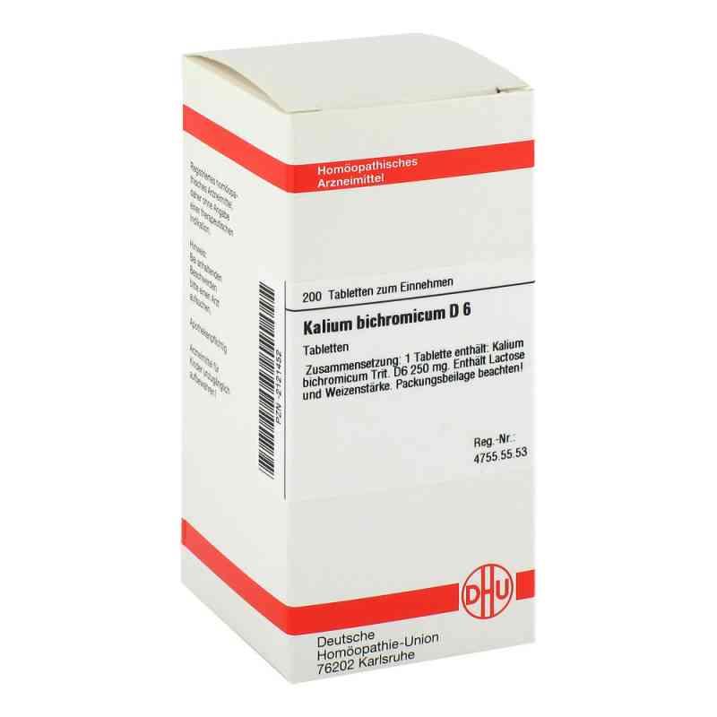 Kalium Bichromicum D 6 Tabl.  zamów na apo-discounter.pl