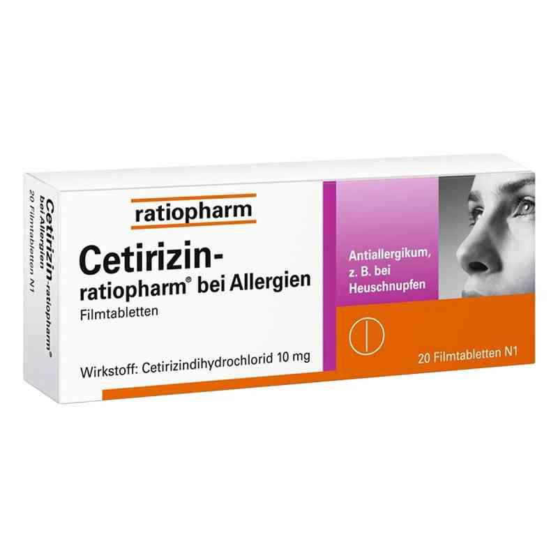 Cetirizin ratiopharm b.Allerg.10 mg Filmtabl.  zamów na apo-discounter.pl