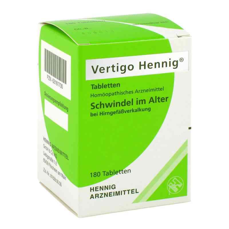 Vertigo Hennig Tabletten zamów na apo-discounter.pl