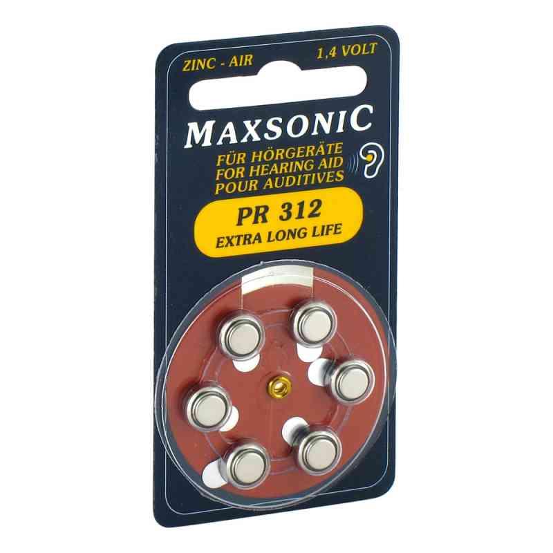 Baterie do aparatów słuchowych Maxsonic Pr312  zamów na apo-discounter.pl