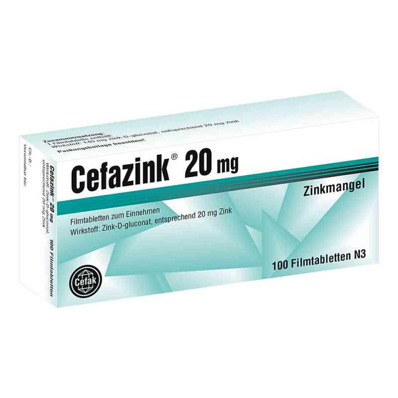 Cefazink 20 mg Filmtabl. zamów na apo-discounter.pl