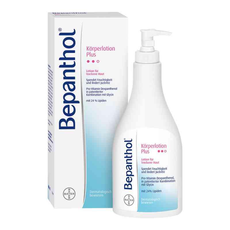 Bepanthol Plus balsam do ciała butelka z dozownikiem  zamów na apo-discounter.pl