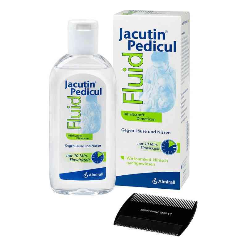 Jacutin Pedicul fluid z grzebieniem do gnid/wszy  zamów na apo-discounter.pl
