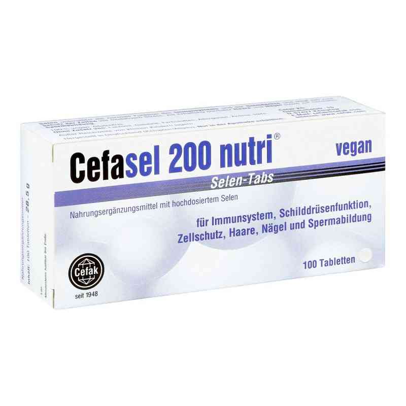 Cefasel 200 nutri Selen Tabs tabletki  zamów na apo-discounter.pl