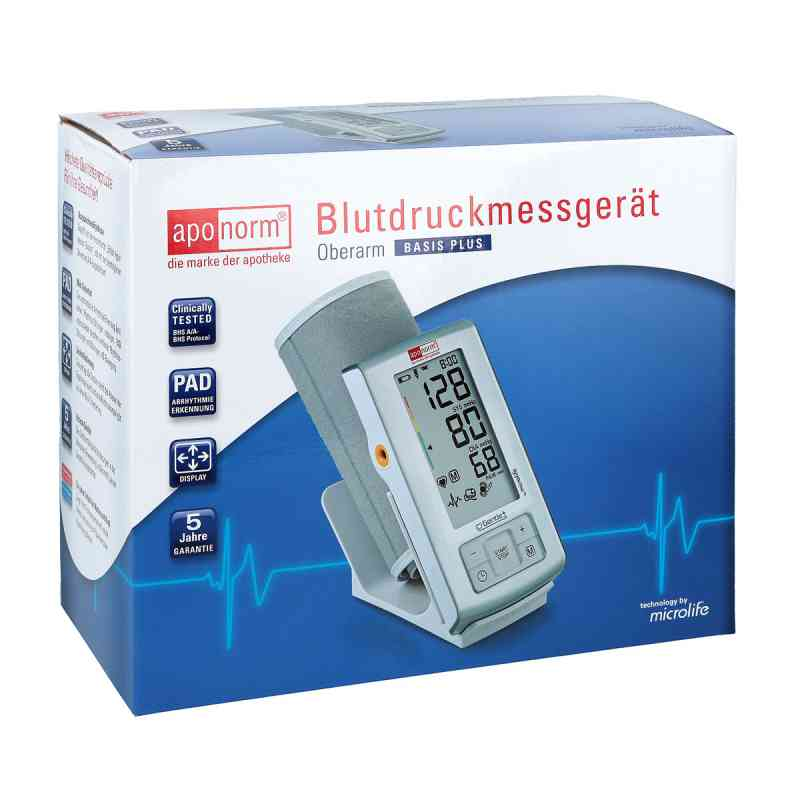 Aponorm Blutdruck Messgeraet Basis Plus Oberarm zamów na apo-discounter.pl