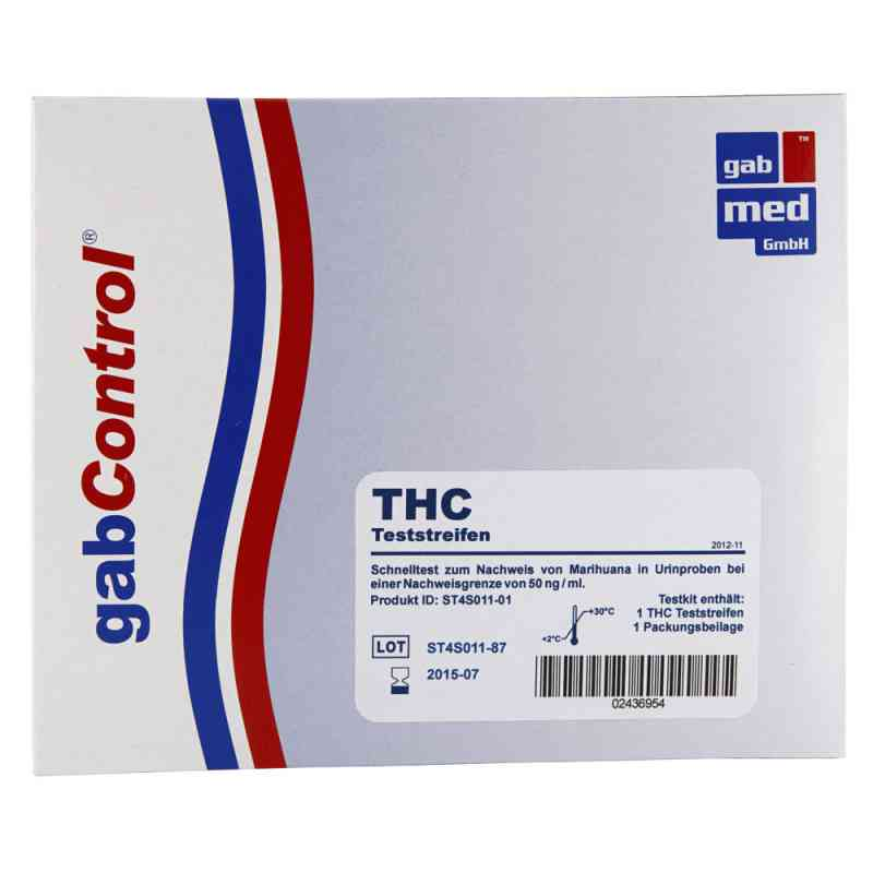 Gabcontrol THC Test narkotykowy zamów na apo-discounter.pl