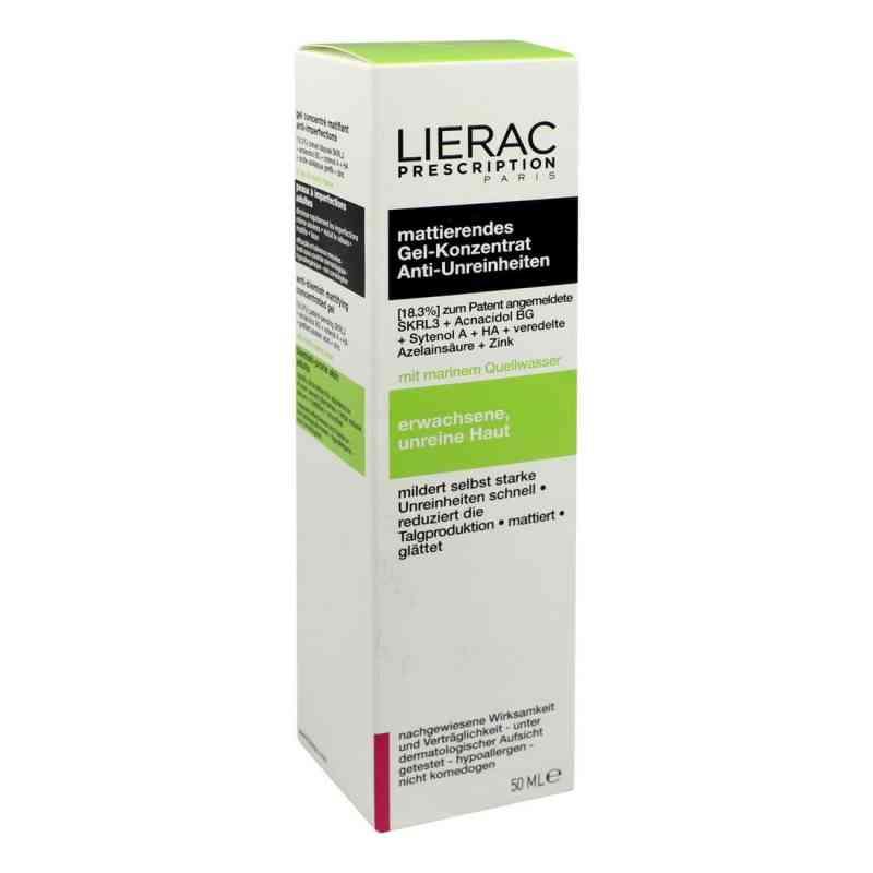 Lierac Prescription żel matujący skórę zamów na apo-discounter.pl