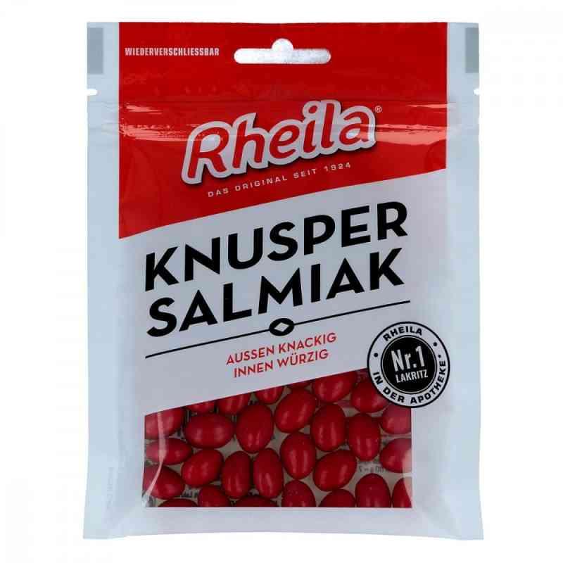 Rheila Knusper Salmiak drażetki z lukrecją  zamów na apo-discounter.pl