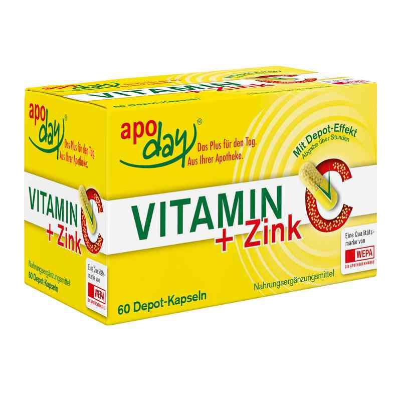 apoDay witamina C + cynk Depot kapsułki  zamów na apo-discounter.pl