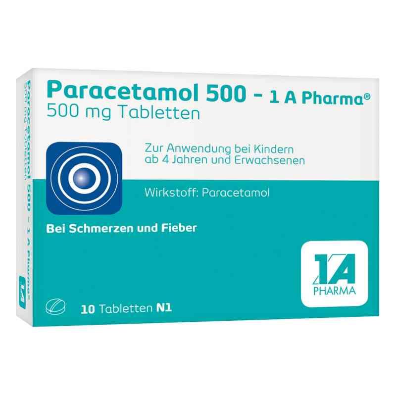 Paracetamol 500 1a Pharma Tabl.  zamów na apo-discounter.pl