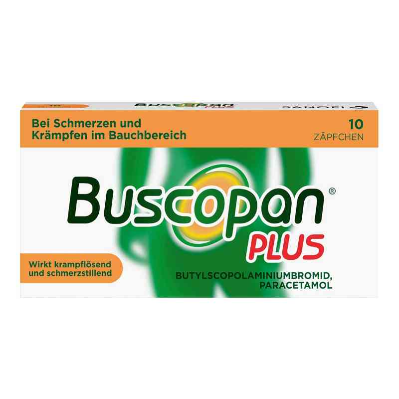 Buscopan plus Suppos.  zamów na apo-discounter.pl
