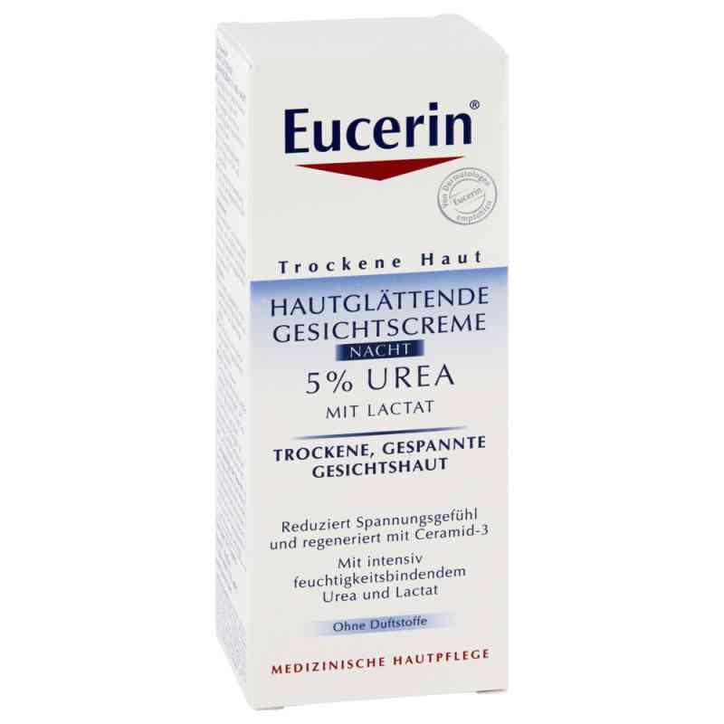 Eucerin 5% Urea Wygładzający krem do twarzy na noc zamów na apo-discounter.pl