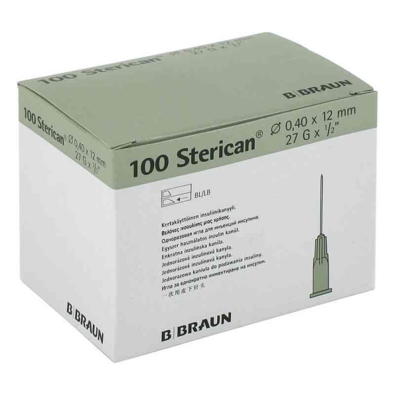 Sterican Ins.einm.kan.27gx1/2 0,40x12 mm  zamów na apo-discounter.pl