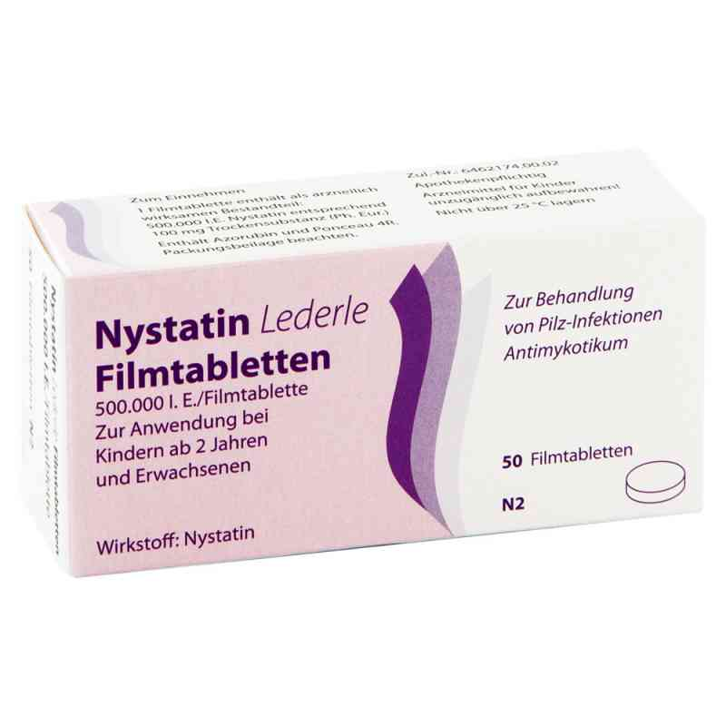 Nystatin Lederle Filmtabl. zamów na apo-discounter.pl