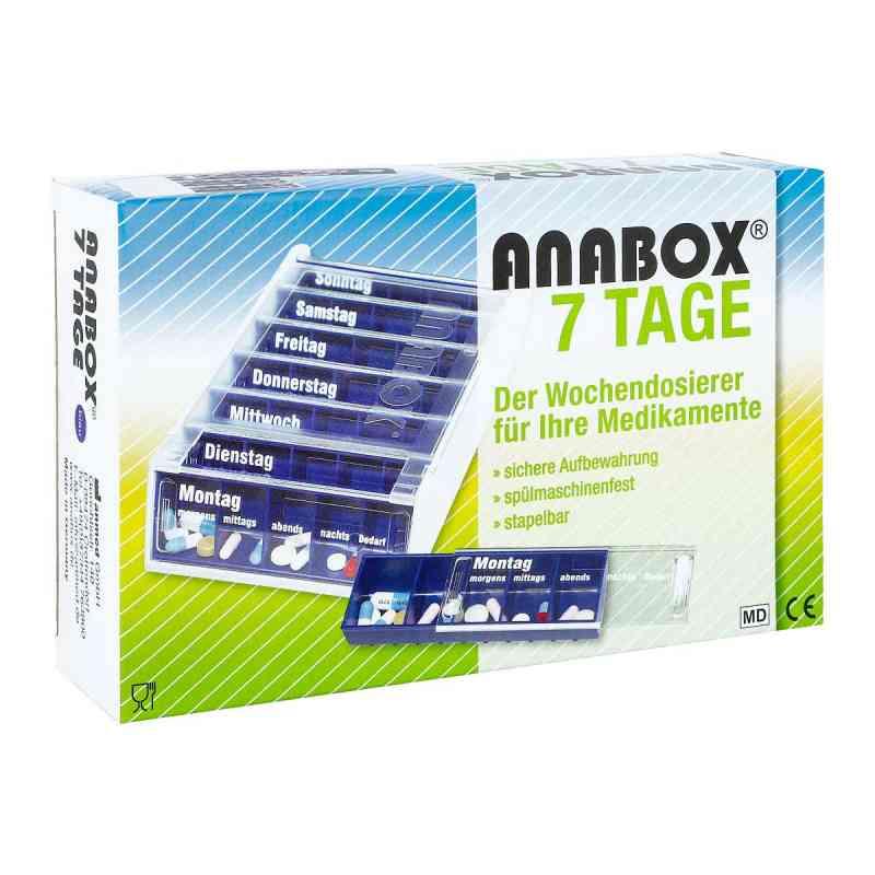 Anabox 7 Tage Wochendosierer blau zamów na apo-discounter.pl