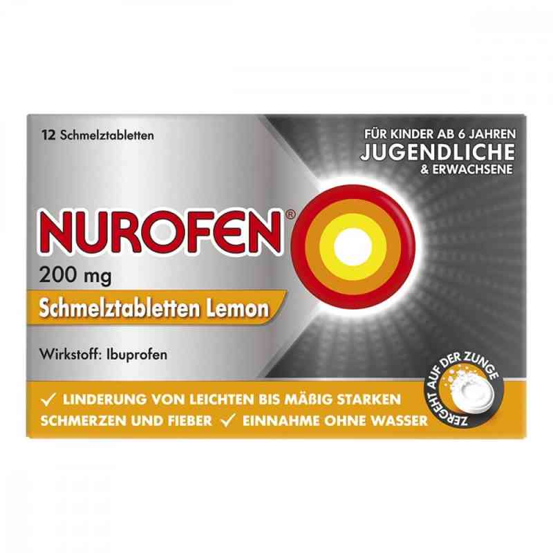 Nurofen 200 mg Schmelztabletten Lemon  zamów na apo-discounter.pl