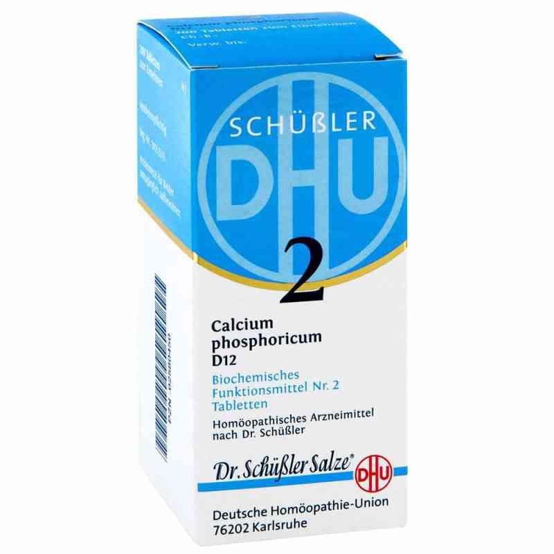 Biochemie Dhu 2 Calcium phosphor.D 12 Tabl.  zamów na apo-discounter.pl