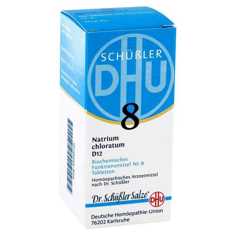 Biochemie DHU sól Nr 8 Chlorek sodu D12, tabletki Tabl.  zamów na apo-discounter.pl
