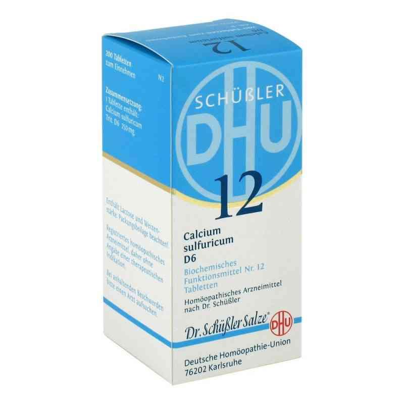 Biochemie DHU Nr 12 siarczan wapniowy D6 tabletki zamów na apo-discounter.pl