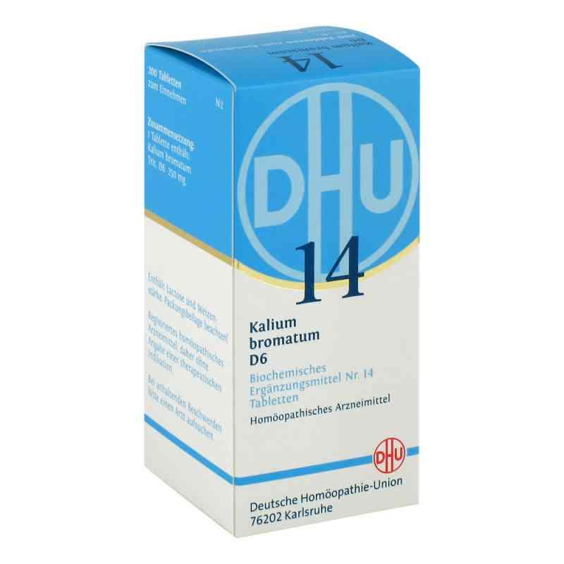 Biochemie Dhu 14 bromek potasu D6 tabletki   zamów na apo-discounter.pl