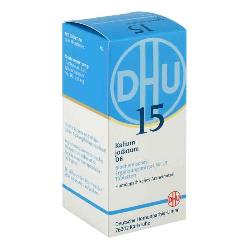 Biochemie DHU 15 Kalium jodatum D6 tabletki  zamów na apo-discounter.pl