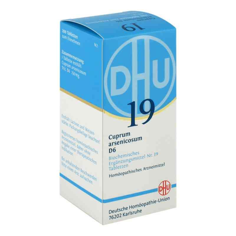 Biochemie Dhu 19 Cuprum arsenicosum D6 w tabletkach  zamów na apo-discounter.pl
