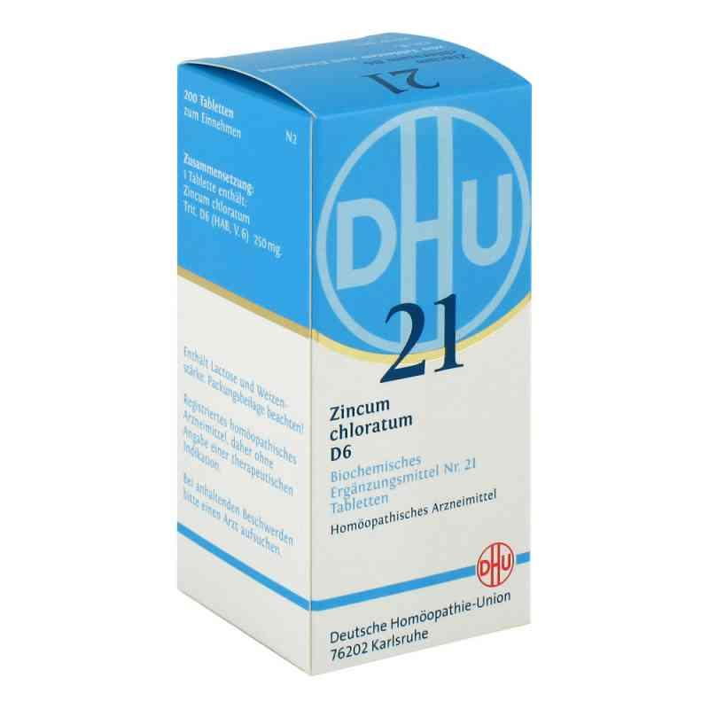 Biochemie Dhu sól Nr 21 Chlorek cynku D6 tabletki zamów na apo-discounter.pl