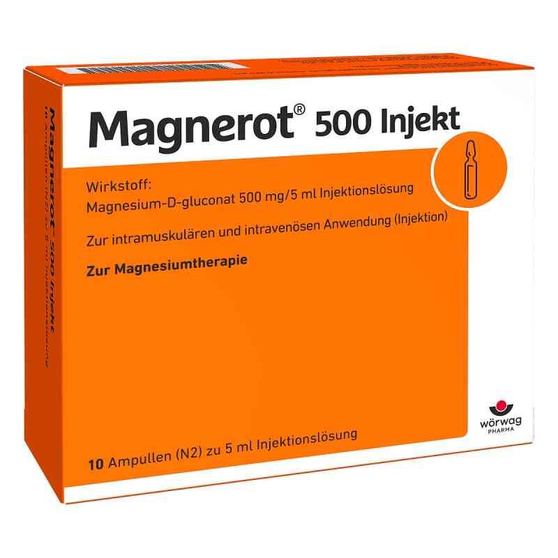 Magnerot 500 Injekt ampułki  zamów na apo-discounter.pl