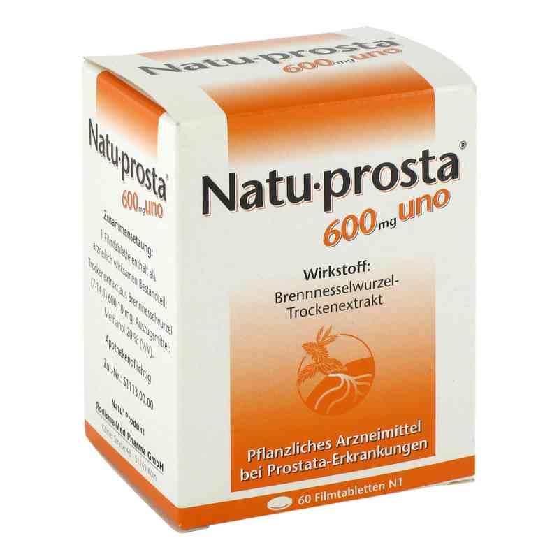 Natuprosta 600 mg uno Filmtabl.  zamów na apo-discounter.pl