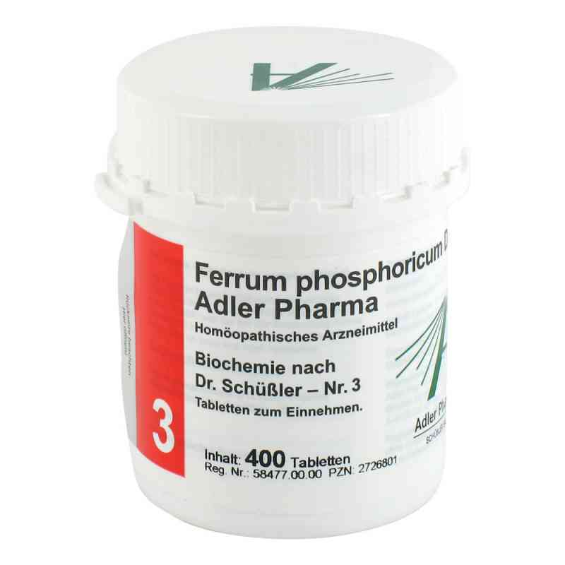 Biochemie Adler 3 Ferrum phosph.D12 Adl.p. Tabl. zamów na apo-discounter.pl