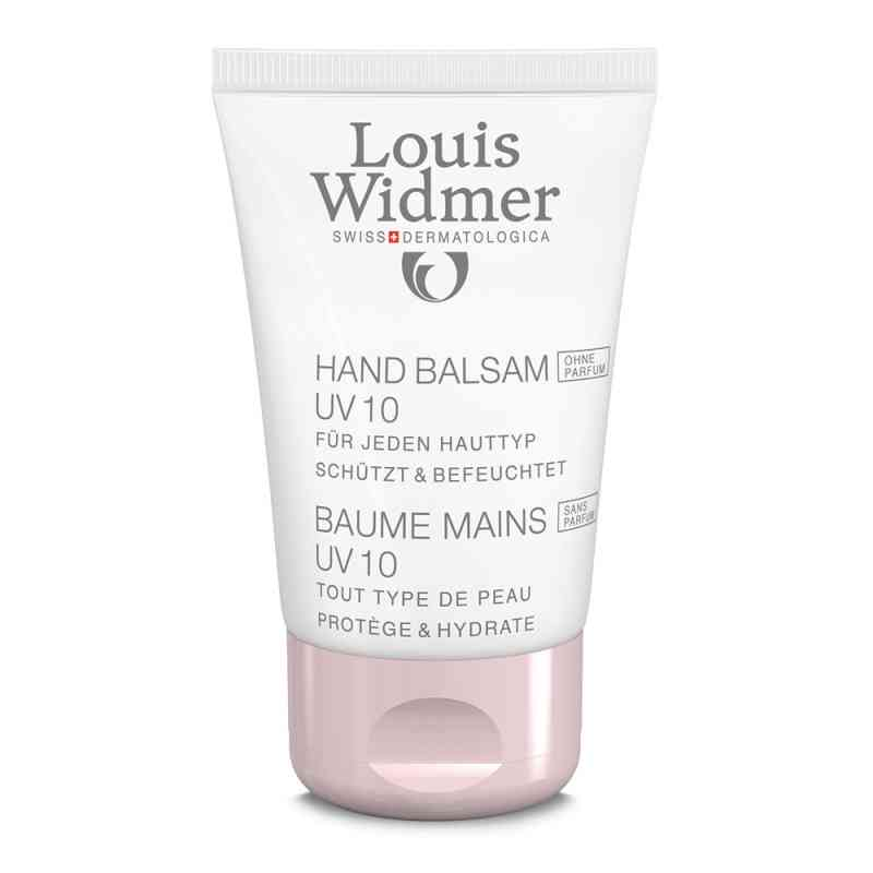 Louis Widmer balsam do rąk z filtrem UV10, nieperfumowany zamów na apo-discounter.pl