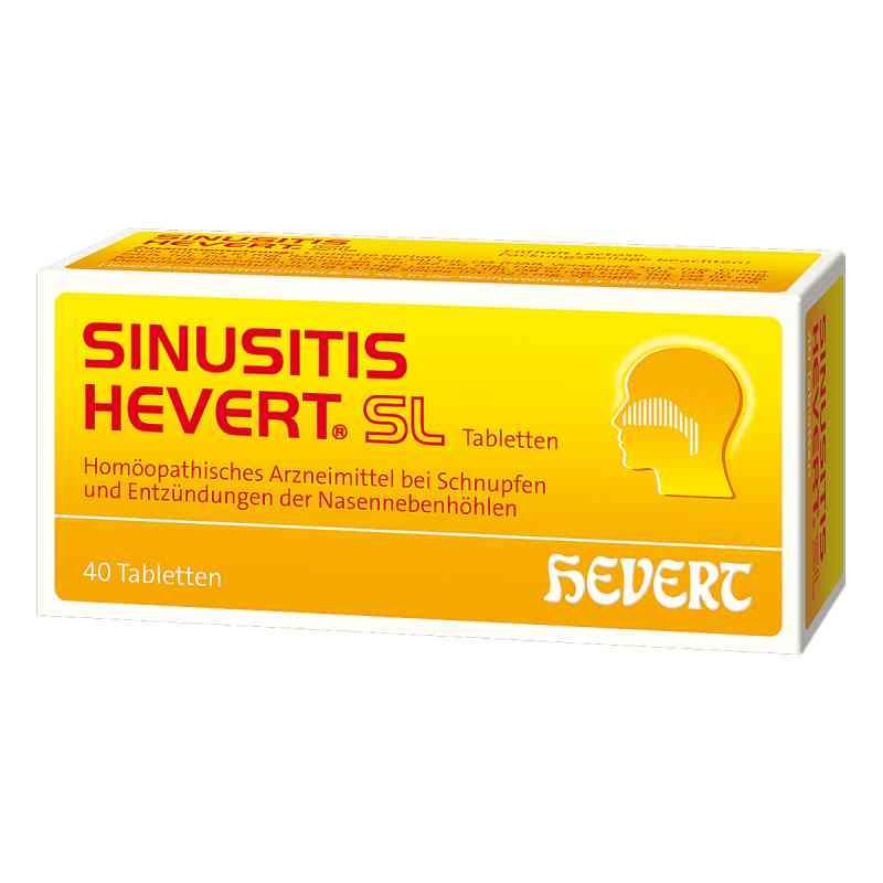 Hevert Sinusitis Sl Tabletki  zamów na apo-discounter.pl